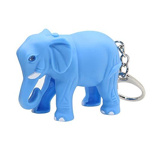 Shangwelluk Luz LED Plástico Forma Elefante Animal