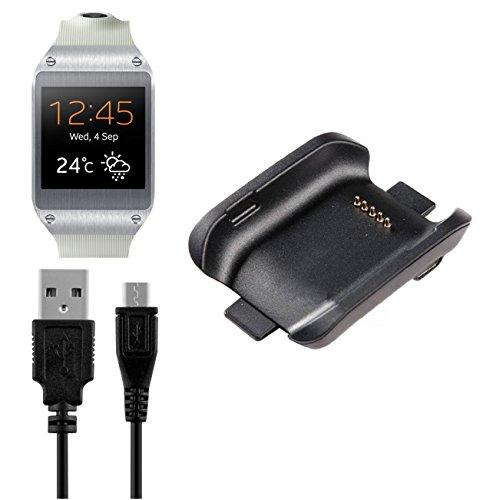BlueBeach® Ersatz Samsung Gear S V700 USB Ladekabel Ladegerät Ladestation