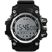 masterein no. 1F2teléfono inteligente reloj IP68resistente al agua pulsera Fitness Tracker recordatorio deporte reloj de pulsera
