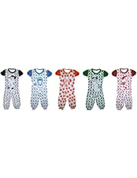 BabyBlossom Cotton Night Suite for Baby Boys and Girls Combo of 5 Set (5 Top 1884a73dd