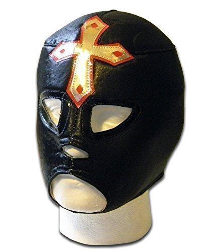 Elegido schwarz Erwachsenen Größe mexikanischen Lucha Wrestling Maske