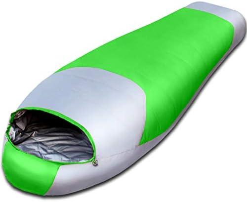 AX-outdoor products products products Singolo Sacchetto Pelo mummificò Viaggi Pelo Autunno ed Ispessimento di Inverno Oca riempimento Coloreee verde 200  78 Centimetri 2200 g B07JMCL423 Parent | Prima i consumatori  | Rifornimento Sufficiente  | Elegante e solenne cf1d90