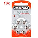 60x Rayovac Extra Advanced Typ 13...