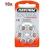 Rayovac Extra HA13, PR48, 4606 hearing aid battery 60 pcs.