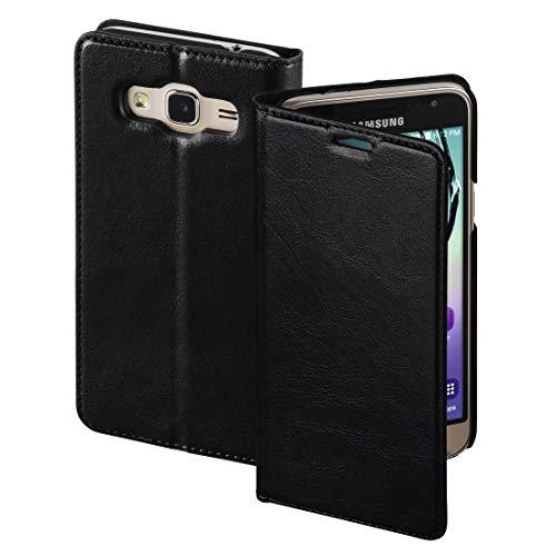 Hama Single Booklet Passend für: Samsung Galaxy J3 (2016) Schwarz