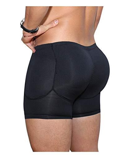 Jolie Männer Hip-Up Gepolstert Hintern Verbessern Boxershorts Butt Enhancer Hip Lifter Unterhose Body Shaper,A,M -