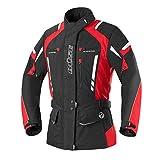 Büse Torino Pro Damen Motorrad Textiljacke 38 Schwarz/Rot