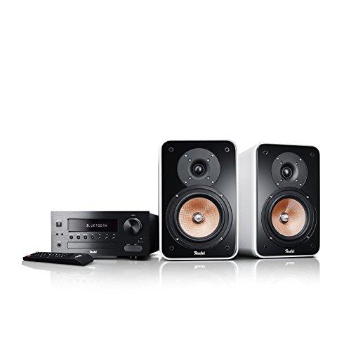 Teufel Kombo 42 BT (2017) Weiß Regal-Lautsprecher Sound bassreflex 2-Wege HiFi Hochtöner Lautsprecher high end HiFi Speaker mp3