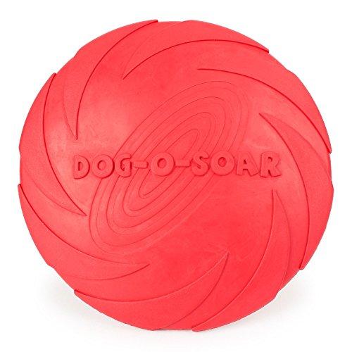Haustier Hund training Frisbee, reinem Naturkautschuk S… | 07596509385036