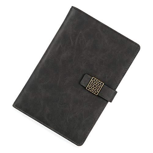 Lin-Tong Leder Notebook Notebook Leder Billige Notebooks Flip Notebook Leder Gebunden Notebook Reisende Notebook Lab Notebook