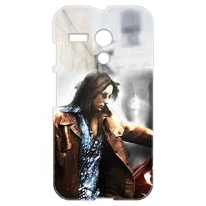 a AND b Designer Printed Mobile Back Cover / Back Case For Motorola Moto G (Moto_G_3D_1103)