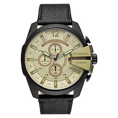 Diesel Reloj Analógico para Hombre de Cuarzo con Correa en Cuero DZ4495