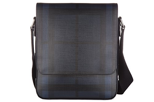 Burberry Umhängetasche Herren Tasche Schultertasche Messenger Bag greenford blu (Herren Tasche Burberry)