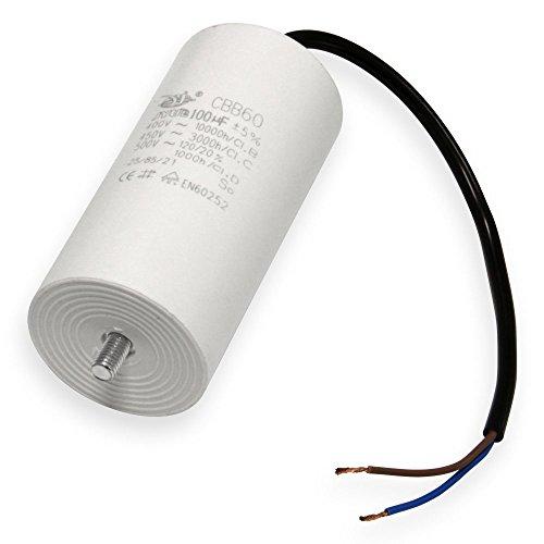 Kondensator 35 µF uF mit 25cm Anschlußkabel Anlaufkondensator Motorkondensator 450V Kondensatoren