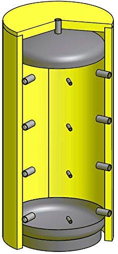 Pufferspeicher 800 Liter inkl. 110mm Isolierung