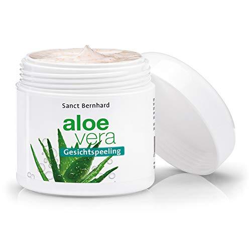 Sanct Bernhard Aloe Vera Gesichtspeeling mit Aloe-Vera-Saft, Urea 100 ml