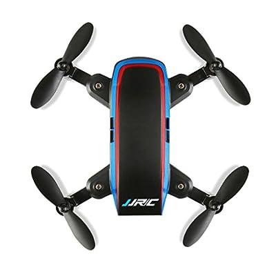 Helicopter Toy, MML JJRC H53W Mini Foldable Pocket Drone Mini FPV Quadcopter Selfie 480P WiFi Camera