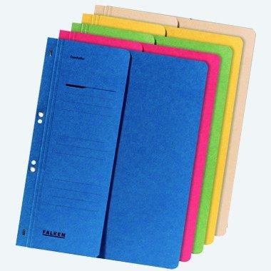 Ösenhefter A4 Karton kaufmannische Heftung farblich Sortiert 5er Packung 1/2 Vorderdeckel von Herlitz 5974050