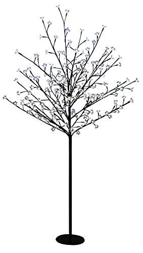 Idena, Albero luminoso con 200lampadine a LED, per interni ed esterni, Bianco caldo 8582084