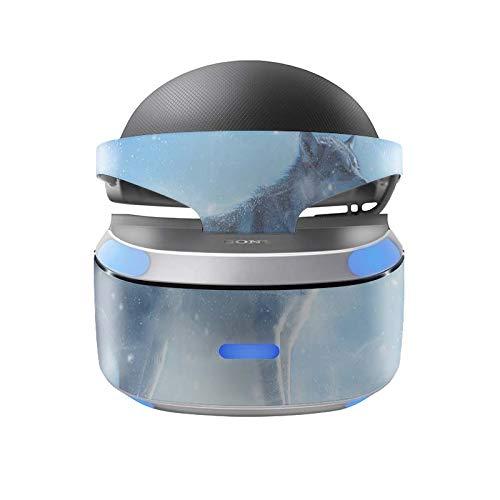 Sony Playstation 4 VR Skin Design Aufkleber Vinyl Schutzfolie Lone Wolf