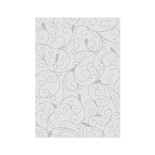 Tonic Studios 516E A4 Embossing Folder-Amelia, White