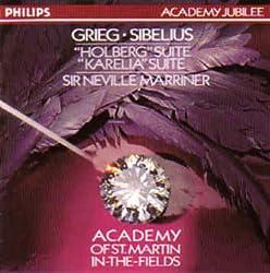 "Grieg Sibelius: ""Holberg"" Suite ""Karelia"" Suite"