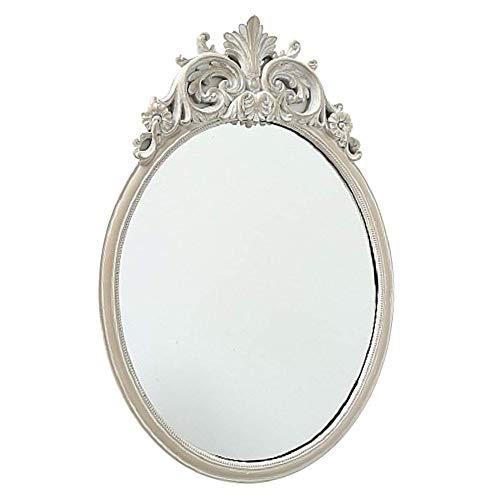 CasaJame Hogar Muebles Accesorios Decoración Espejo Ovalado para Colgar...