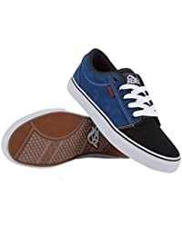 651c4990652bd1 Adio Skate Shoes Sydney Suede Royal  Black Sneakers shoes