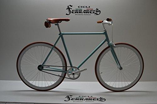 Bicicleta Fixie: Bicicleta de 1 velocidad, piñón...
