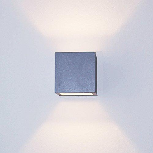 led-up-down-applique-applique-effet-karo-argent-clair-g9-3w