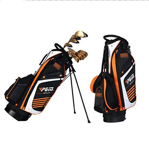 LXYIUN Golftasche,Ultraleicht Hohe Kapazität Halterung Waffentasche,Orange