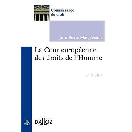 La Cour européenne des droits de l'Homme (Connaissance du droit)