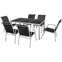 salon de jardin aluminium. Black Bedroom Furniture Sets. Home Design Ideas