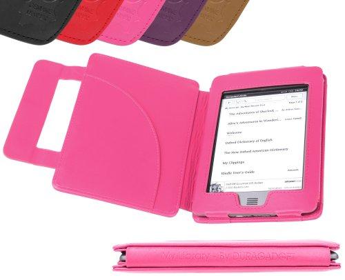 DURAGADGET Funda de piel Para Kindle Touch, color morado segunda mano  Se entrega en toda España