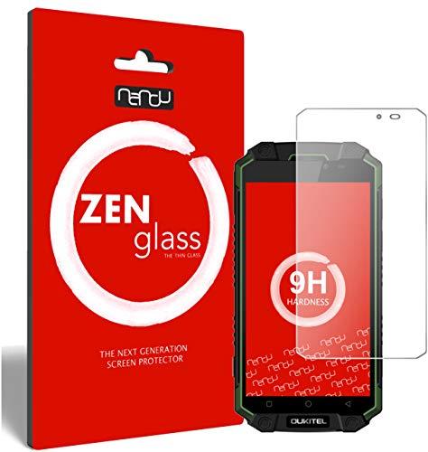 ZenGlass Flexible Glas-Folie für Oukitel K10000 Max Panzerfolie I Bildschirm-Schutzfolie 9H