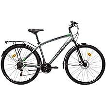 "Moma Bikes Bicicleta Trekking SHIMANO 21 vel. Aluminio, ruedas de 28"", frenos de disco, M-L (1.65-1.79m)"