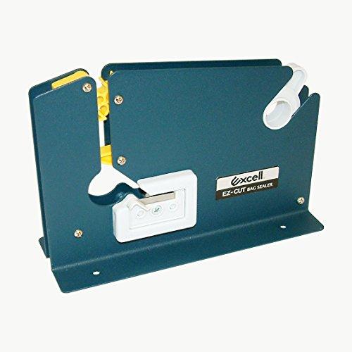 Excell ET-605K Beutelklebebandspender: For tape up to 12mm wide (Blau)