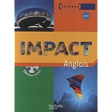 Impact anglais seconde (1CD audio)