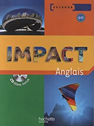Impact anglais seconde (1CD audio)