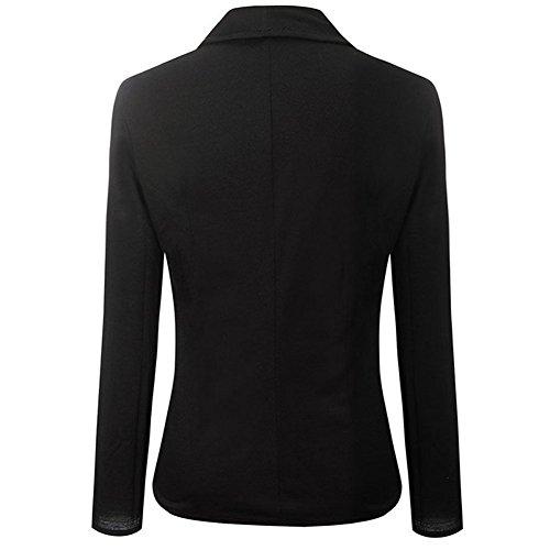 skyblue-uk - Veste de tailleur - Blouson - Femme Noir - Noir