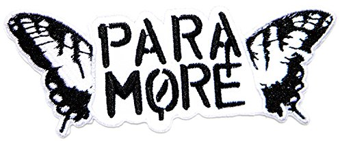 paramore Pop Rock Music Band Logo Jacket T shirt Patch Sew Iron on Embroidered Symbol (Reinigung Runde Patches)
