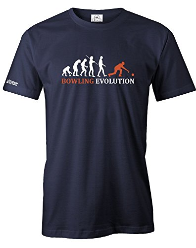 BOWLING EVOLUTION - HERREN - T-SHIRT Navy