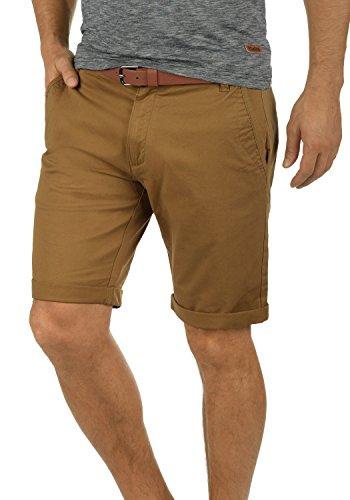 Shorts Bermuda Kurze Hose Mit Gürtel Aus Stretch-Material Regular Fit, Größe:XL, Farbe:Cinnamon (5056) ()