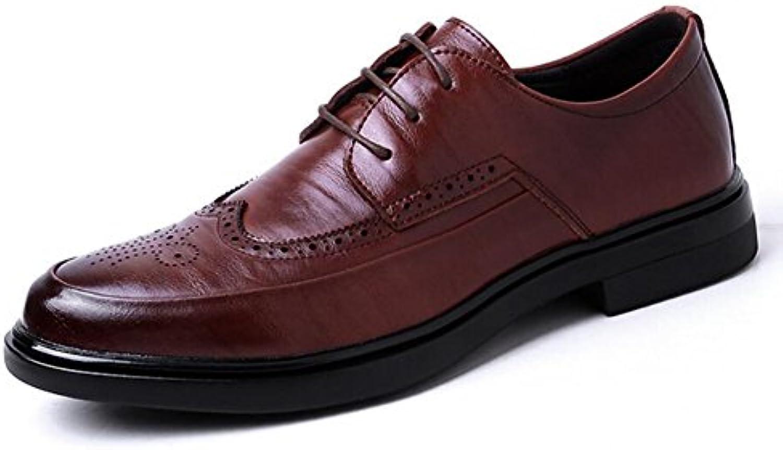 CAI Herren Schuhe 2018 Fruumlhling/Herbst New Man Front Strap Lederschuhe Herren Formale Schuhe Business Schuhe Männer