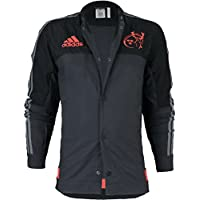 Adidas Munster Anthem Jacke AC1373 Herren Fanjacke / Rugbyjacke / Clubwear Schwarz