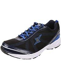 4c2821d8fd7f Sparx Men s Black Royal Blue Colour SM260 Series Synthetic and Nylon Mesh  Sports Shoes 10UK