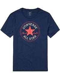 Converse Homme Noyau Chuck Taylor Patch T-Shirt, Bleu