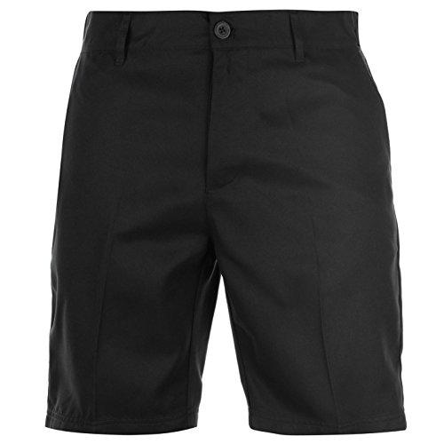 Slazenger Herren Golf Shorts Taschen Unifarben Schwarz 34