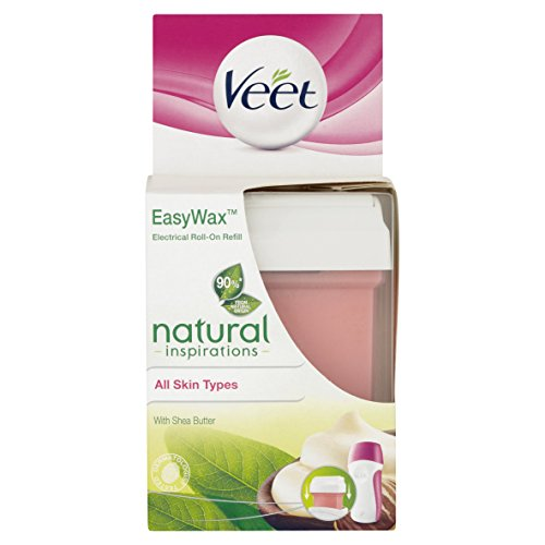 Veet Easy Wax Naturals Electrical Roll-On Refill - 50 ml by Veet -