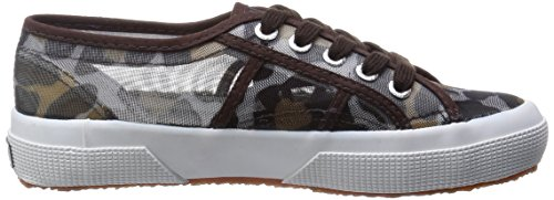 Superga 2750-Animalnetw, Sneaker, Donna (Leopard Silver)